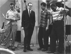(de gauche à droite : Morello, Desmond, Brubeck, Wright)